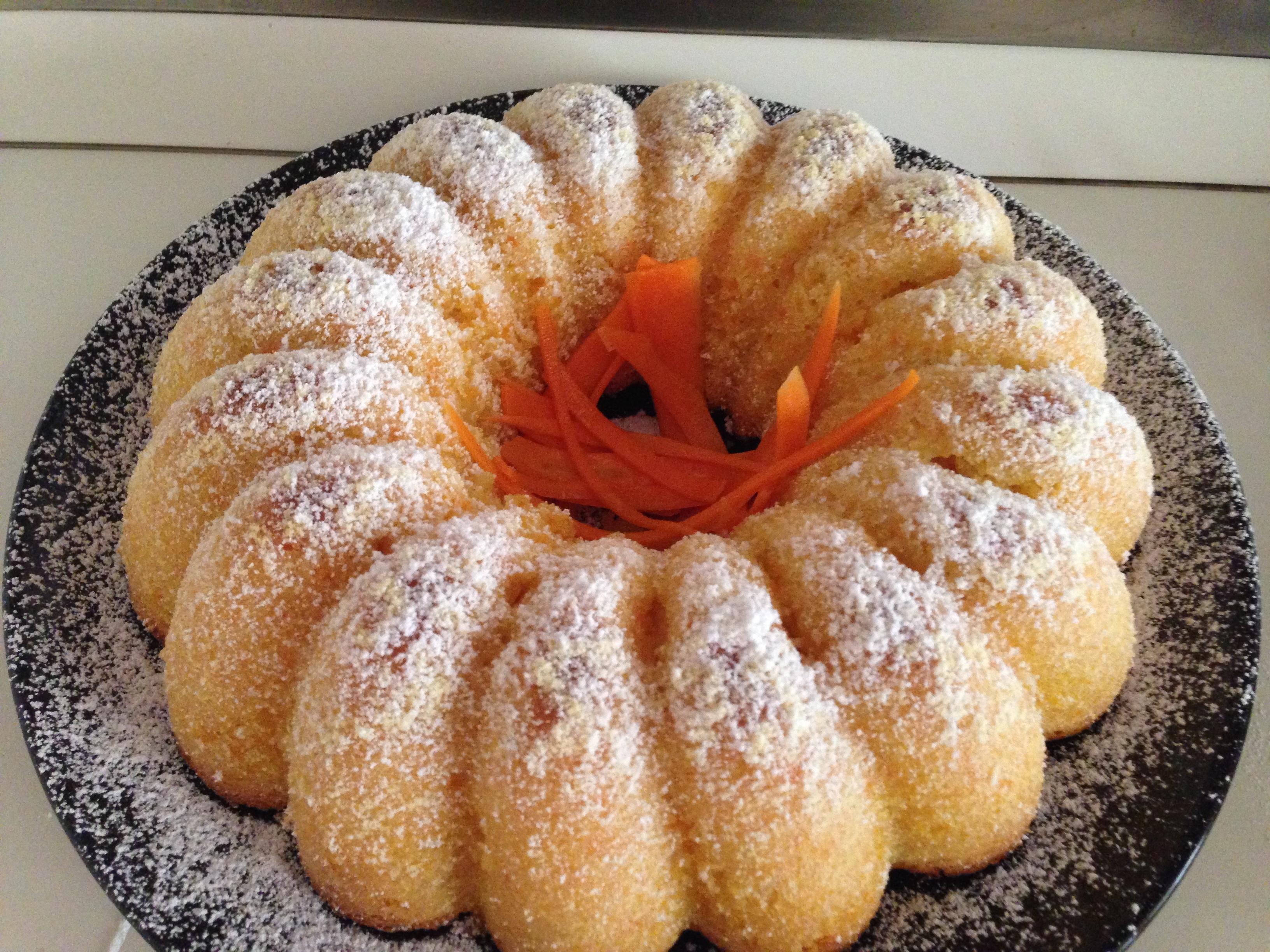 torta di carote light