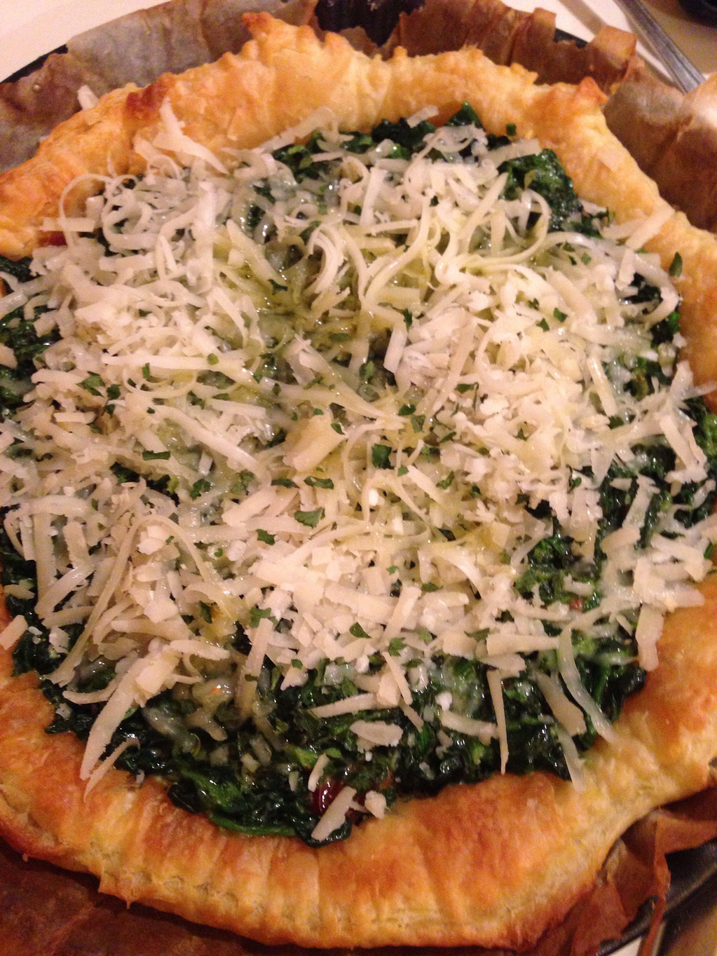 torta salata spinaci e formaggi
