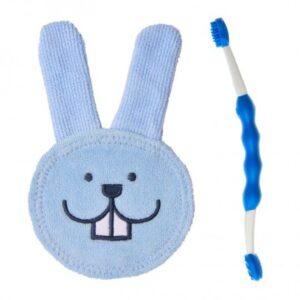 primo dentino: spazzolino e guantino MAM