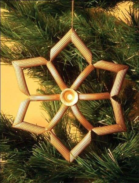 Decorazioni natalizie di pasta
