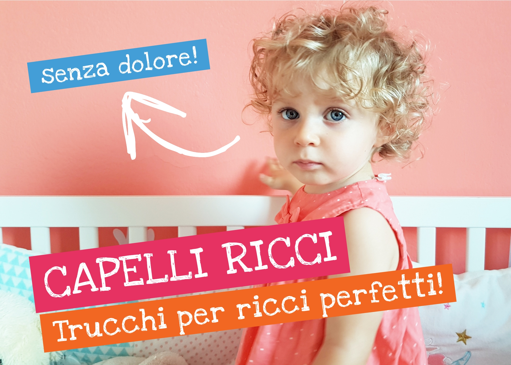 Come curare i capelli ricci dei bambini e adulti  Ricci senza ... 61f0d17b11bf