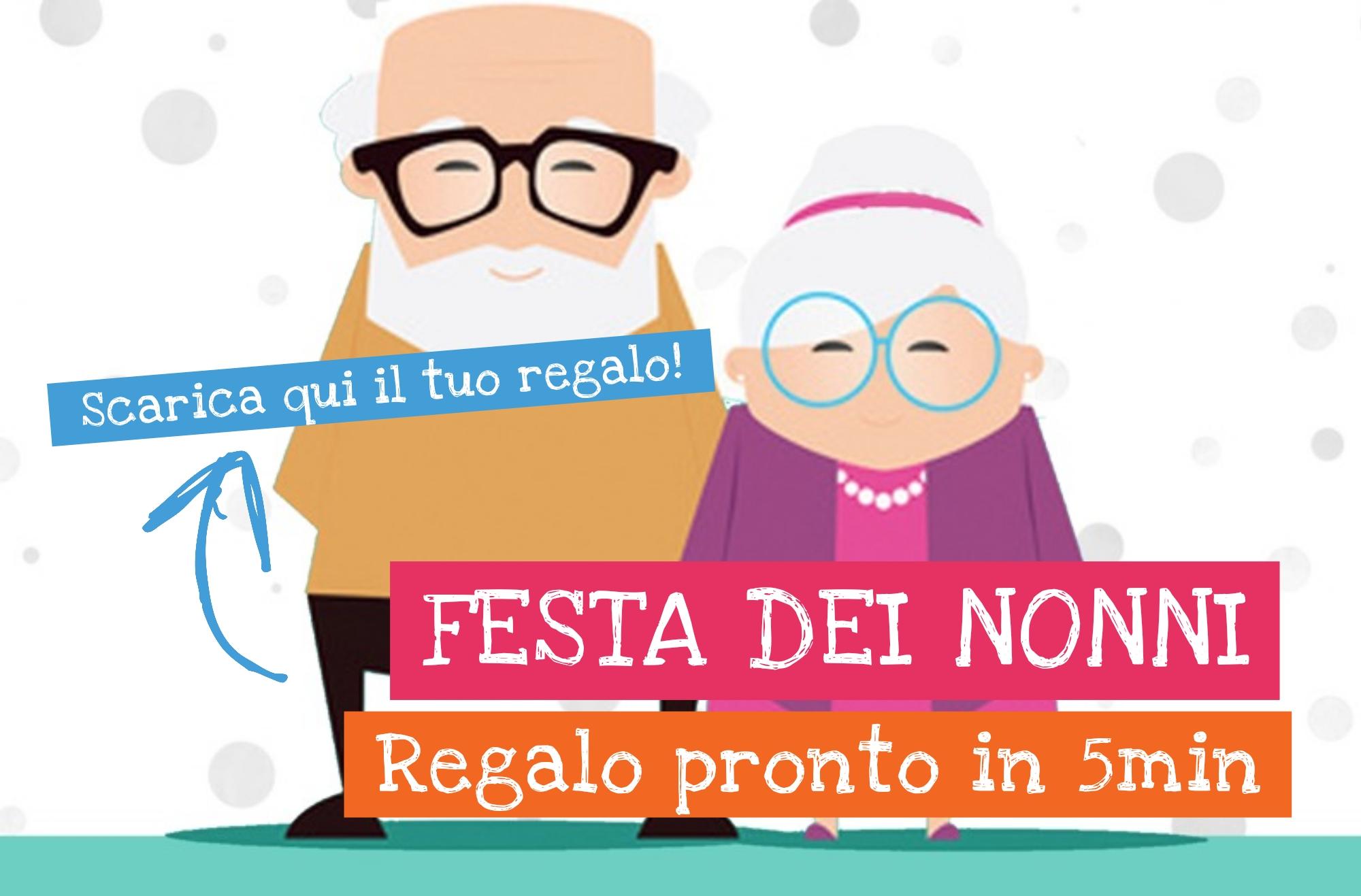 Festa dei nonni regalo gratis diventare mamma for Regalo libri gratis