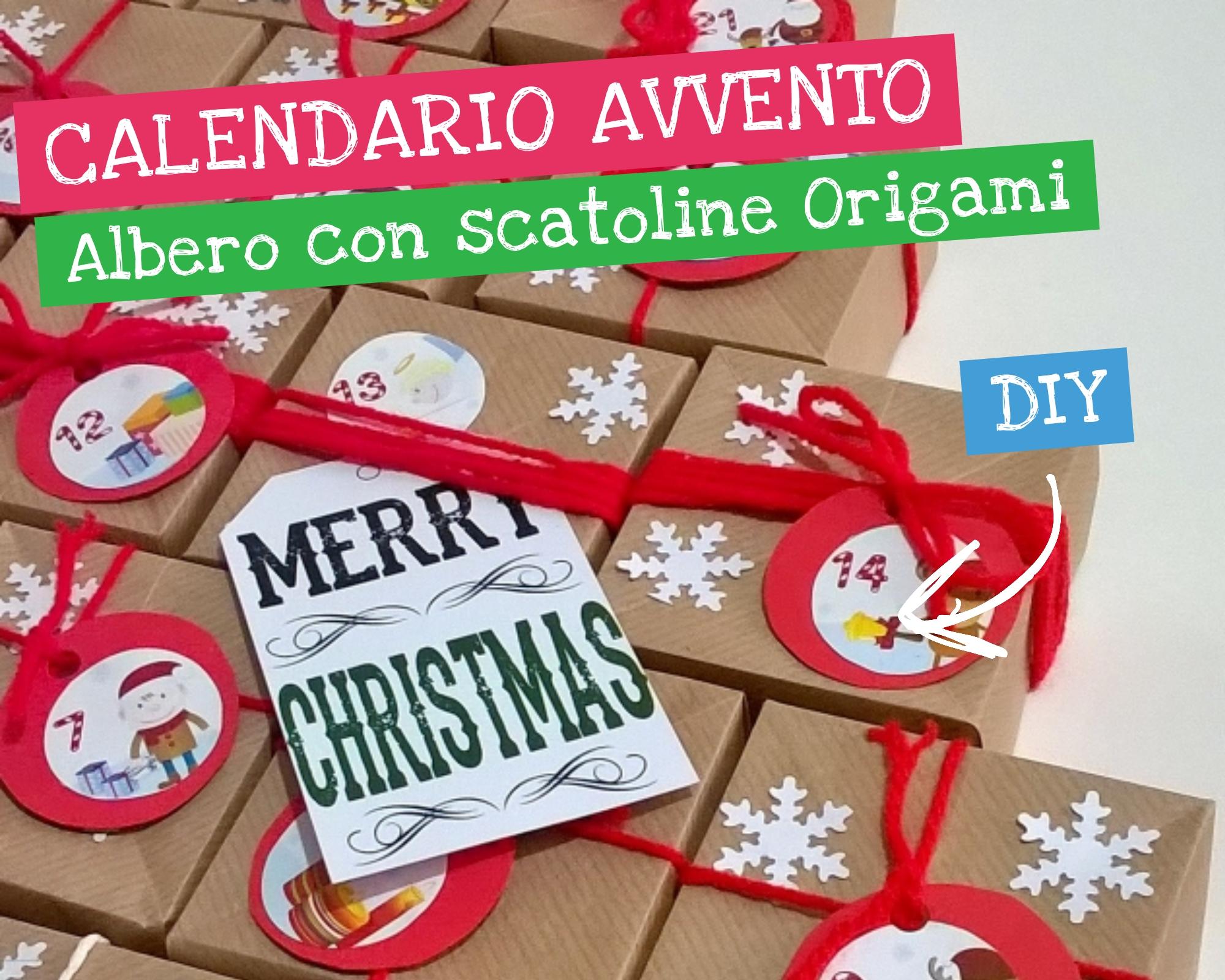 Creare Calendario Avvento.Calendario Dell Avvento Origami Diventare Mamma