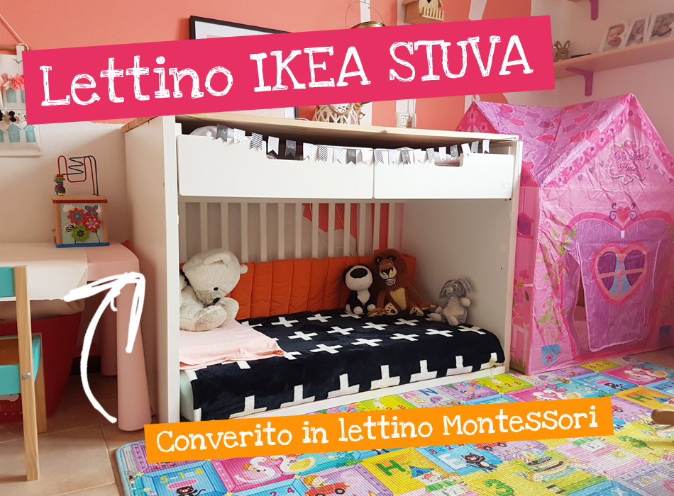 Convertire lettino ikea stuva in lettino montessori for Lettini ikea usati