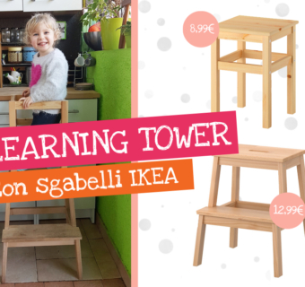 Learning Tower con sgabelli IKEA – DIY