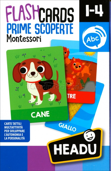 Flash Cards Prime Scoperte Montessori