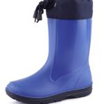 stivali pioggia blu