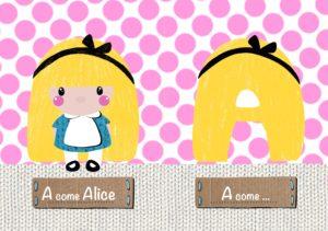 Lettera A come Alice