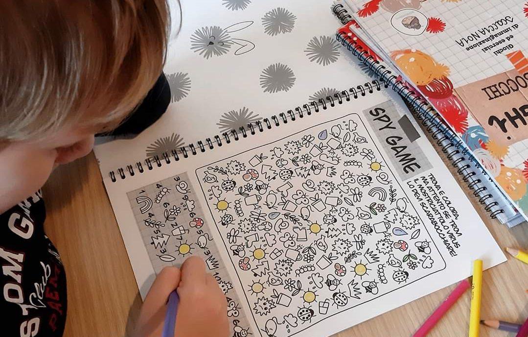 activity book paciughi e scarabocchi